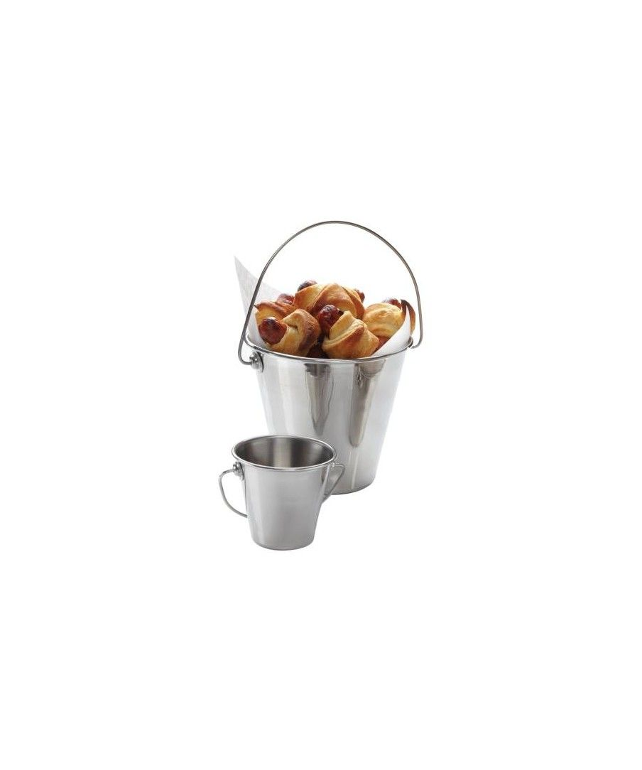 Mini Stainless Steel Pail 90Mm