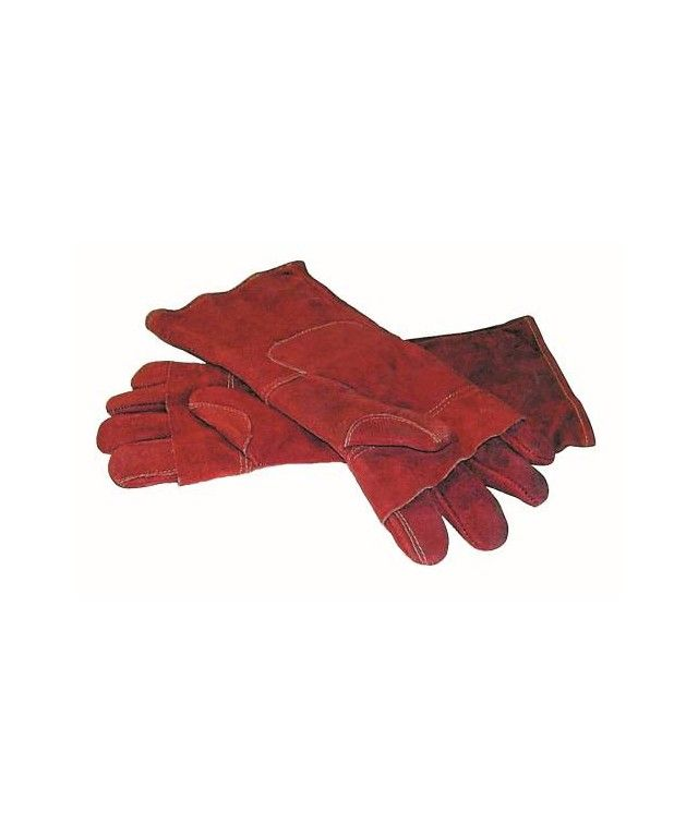 Oven Mitt (Red) Leather...